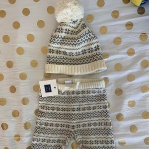 *Brand NEW* Janie and Jack Winter pants and hat